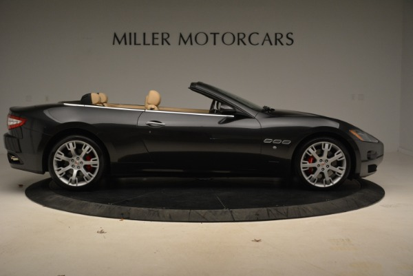 Used 2013 Maserati GranTurismo Convertible for sale Sold at Rolls-Royce Motor Cars Greenwich in Greenwich CT 06830 9