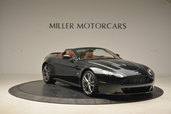 Used 2017 Aston Martin V12 Vantage S Roadster for sale Sold at Rolls-Royce Motor Cars Greenwich in Greenwich CT 06830 11