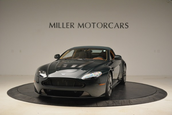Used 2017 Aston Martin V12 Vantage S Roadster for sale Sold at Rolls-Royce Motor Cars Greenwich in Greenwich CT 06830 13