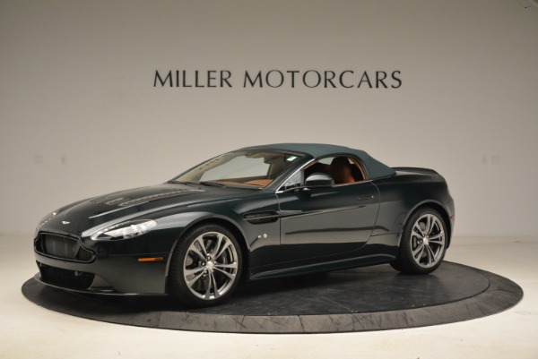 Used 2017 Aston Martin V12 Vantage S Roadster for sale Sold at Rolls-Royce Motor Cars Greenwich in Greenwich CT 06830 14