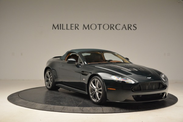 Used 2017 Aston Martin V12 Vantage S Roadster for sale Sold at Rolls-Royce Motor Cars Greenwich in Greenwich CT 06830 18