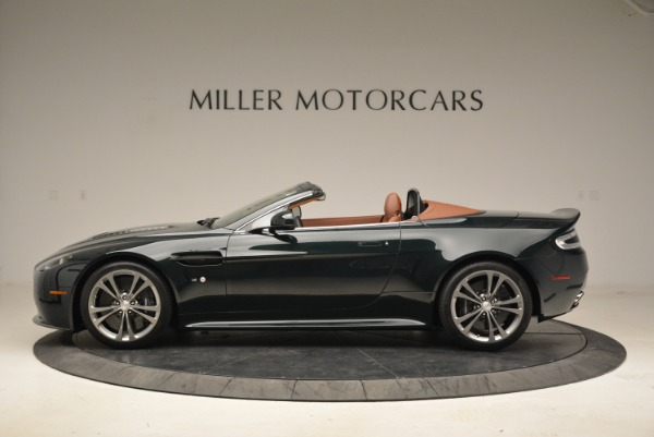 Used 2017 Aston Martin V12 Vantage S Roadster for sale Sold at Rolls-Royce Motor Cars Greenwich in Greenwich CT 06830 3