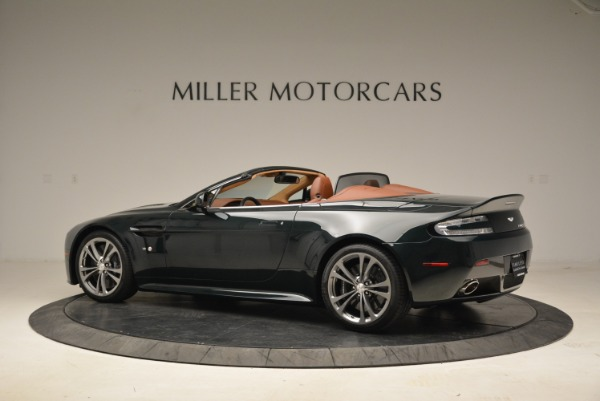 Used 2017 Aston Martin V12 Vantage S Roadster for sale Sold at Rolls-Royce Motor Cars Greenwich in Greenwich CT 06830 4