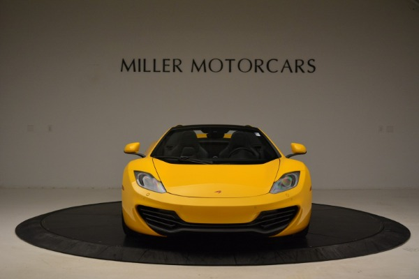 Used 2014 McLaren MP4-12C Spider for sale Sold at Rolls-Royce Motor Cars Greenwich in Greenwich CT 06830 12