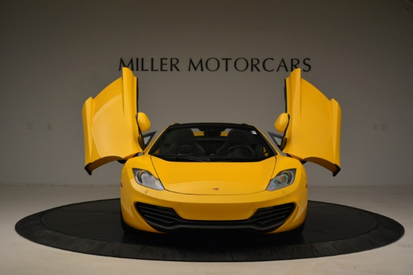 Used 2014 McLaren MP4-12C Spider for sale Sold at Rolls-Royce Motor Cars Greenwich in Greenwich CT 06830 13
