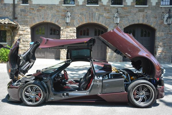 Used 2014 Pagani Huayra for sale Sold at Rolls-Royce Motor Cars Greenwich in Greenwich CT 06830 8