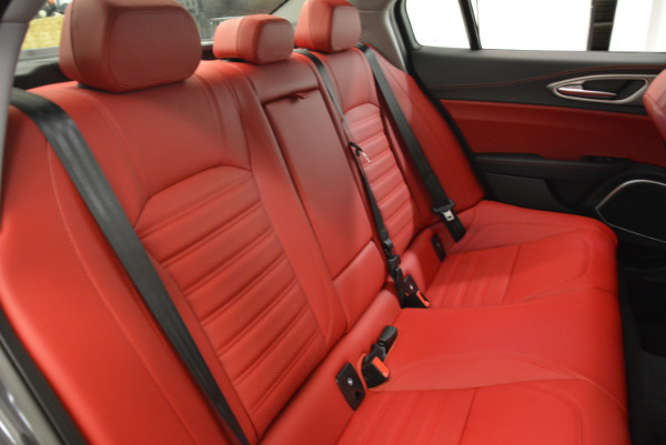 New 2018 Alfa Romeo Giulia Ti Sport Q4 for sale Sold at Rolls-Royce Motor Cars Greenwich in Greenwich CT 06830 24