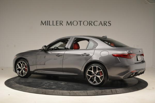 New 2018 Alfa Romeo Giulia Ti Sport Q4 for sale Sold at Rolls-Royce Motor Cars Greenwich in Greenwich CT 06830 4