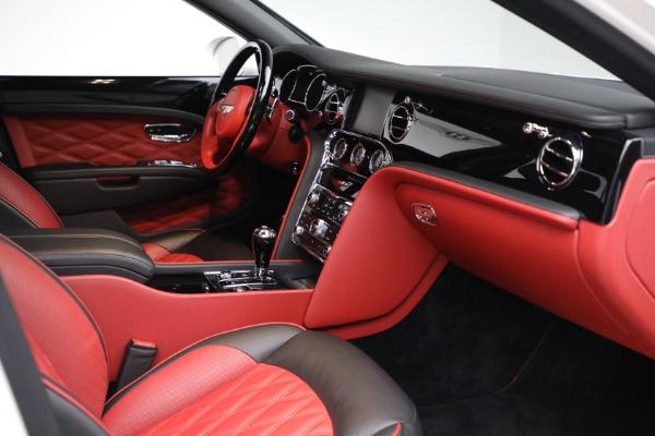 Used 2018 Bentley Mulsanne Speed for sale $228,900 at Rolls-Royce Motor Cars Greenwich in Greenwich CT 06830 27