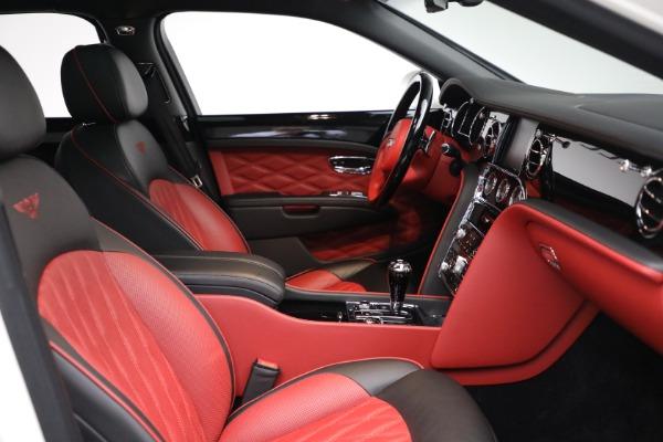 Used 2018 Bentley Mulsanne Speed for sale $228,900 at Rolls-Royce Motor Cars Greenwich in Greenwich CT 06830 28