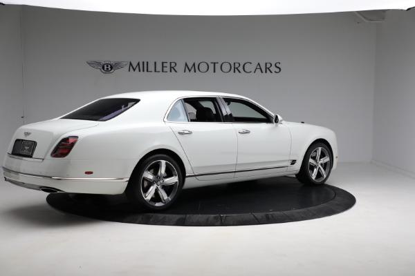 Used 2018 Bentley Mulsanne Speed for sale $228,900 at Rolls-Royce Motor Cars Greenwich in Greenwich CT 06830 7