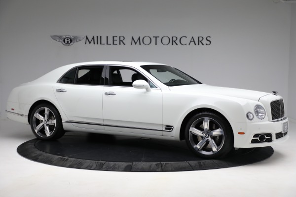 Used 2018 Bentley Mulsanne Speed for sale $228,900 at Rolls-Royce Motor Cars Greenwich in Greenwich CT 06830 9