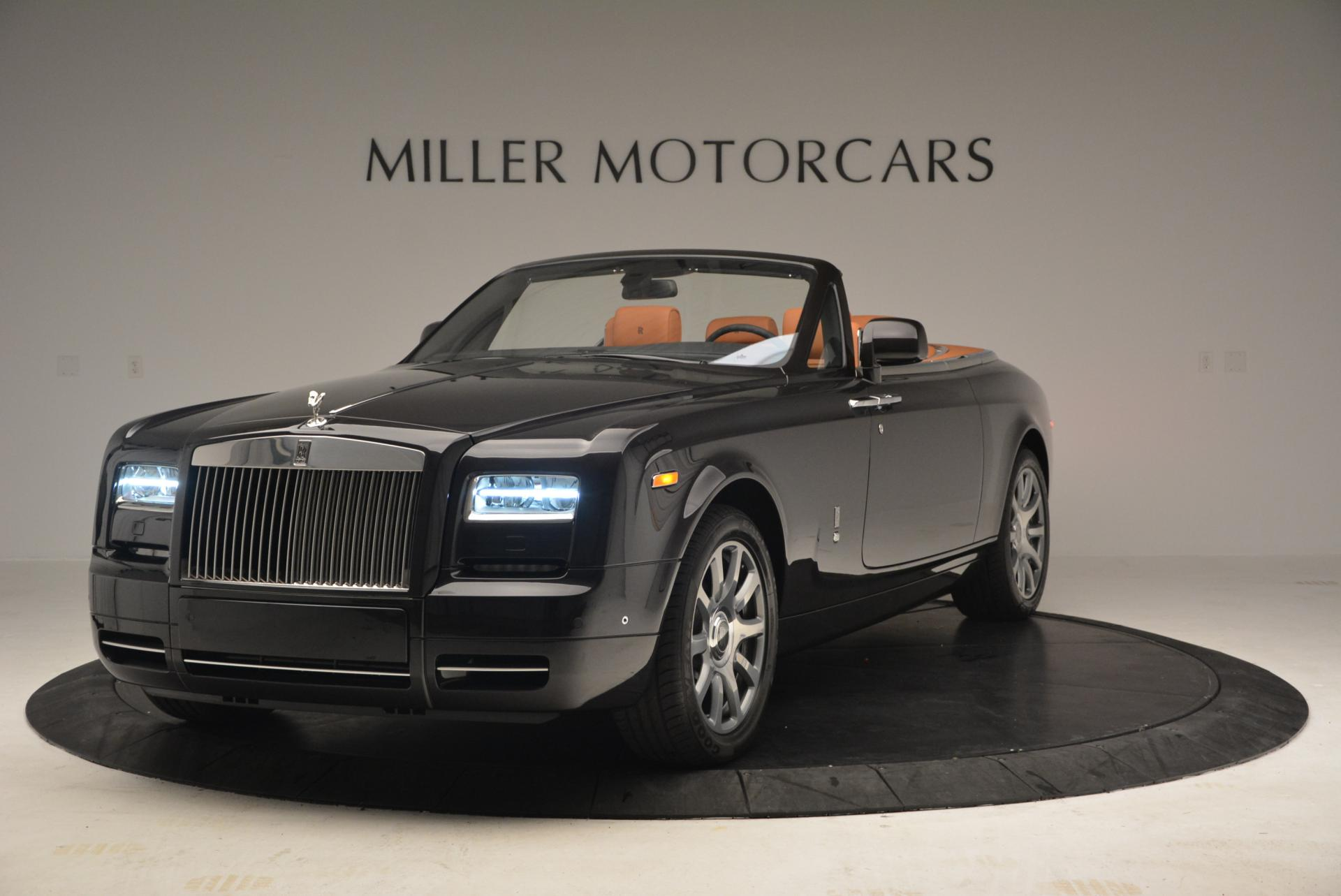 New 2016 Rolls-Royce Phantom Drophead Coupe Bespoke for sale Sold at Rolls-Royce Motor Cars Greenwich in Greenwich CT 06830 1