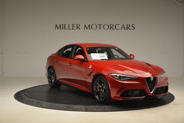 New 2018 Alfa Romeo Giulia Quadrifoglio for sale Sold at Rolls-Royce Motor Cars Greenwich in Greenwich CT 06830 11