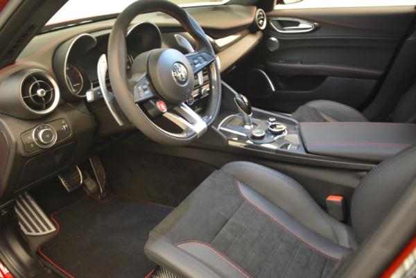 New 2018 Alfa Romeo Giulia Quadrifoglio for sale Sold at Rolls-Royce Motor Cars Greenwich in Greenwich CT 06830 13