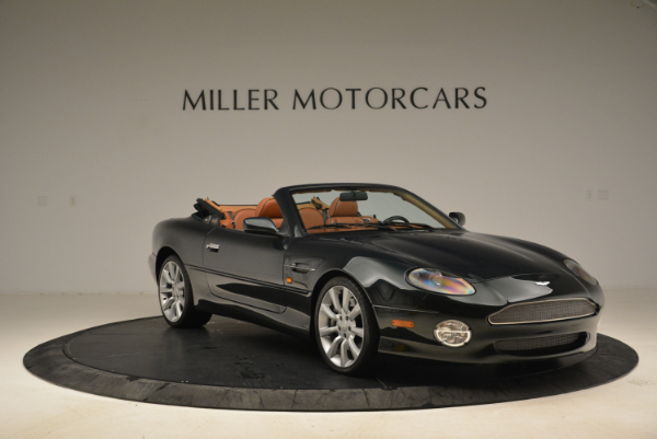 Used 2003 Aston Martin DB7 Vantage Volante for sale Sold at Rolls-Royce Motor Cars Greenwich in Greenwich CT 06830 11