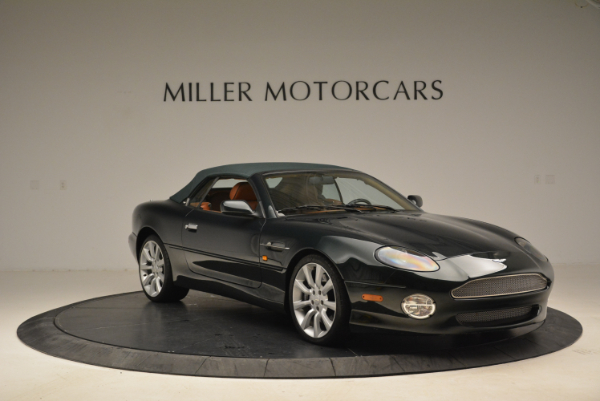 Used 2003 Aston Martin DB7 Vantage Volante for sale Sold at Rolls-Royce Motor Cars Greenwich in Greenwich CT 06830 13