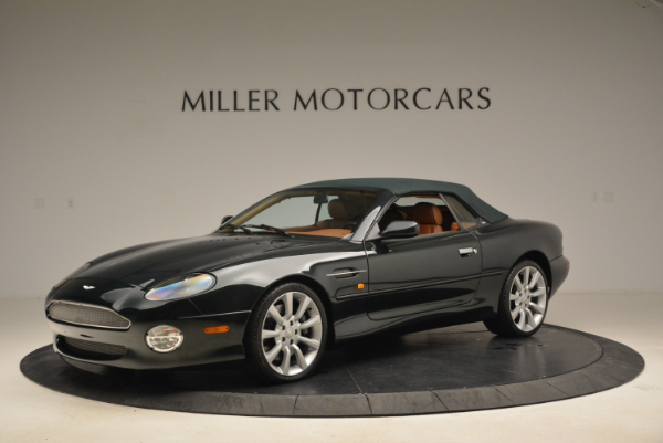 Used 2003 Aston Martin DB7 Vantage Volante for sale Sold at Rolls-Royce Motor Cars Greenwich in Greenwich CT 06830 14