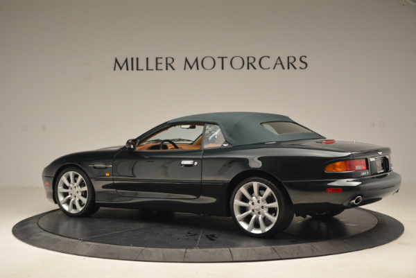 Used 2003 Aston Martin DB7 Vantage Volante for sale Sold at Rolls-Royce Motor Cars Greenwich in Greenwich CT 06830 16