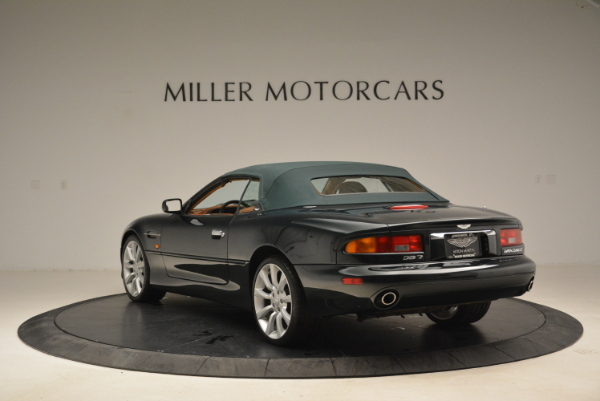 Used 2003 Aston Martin DB7 Vantage Volante for sale Sold at Rolls-Royce Motor Cars Greenwich in Greenwich CT 06830 17