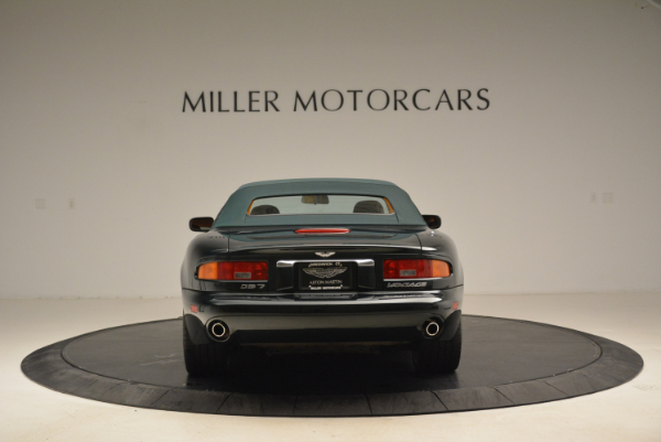 Used 2003 Aston Martin DB7 Vantage Volante for sale Sold at Rolls-Royce Motor Cars Greenwich in Greenwich CT 06830 18