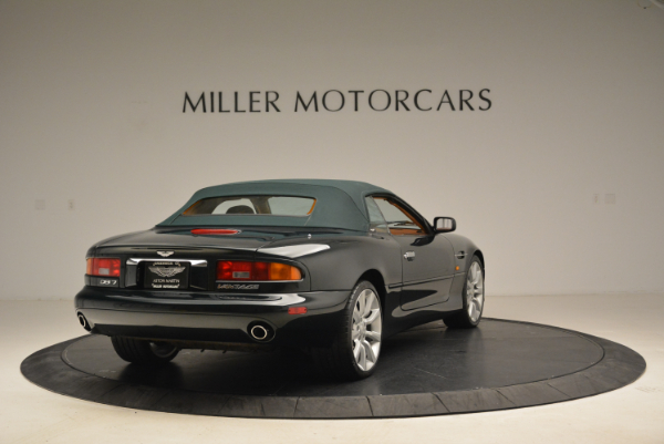 Used 2003 Aston Martin DB7 Vantage Volante for sale Sold at Rolls-Royce Motor Cars Greenwich in Greenwich CT 06830 19
