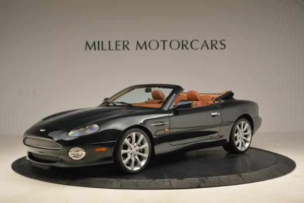 Used 2003 Aston Martin DB7 Vantage Volante for sale Sold at Rolls-Royce Motor Cars Greenwich in Greenwich CT 06830 2