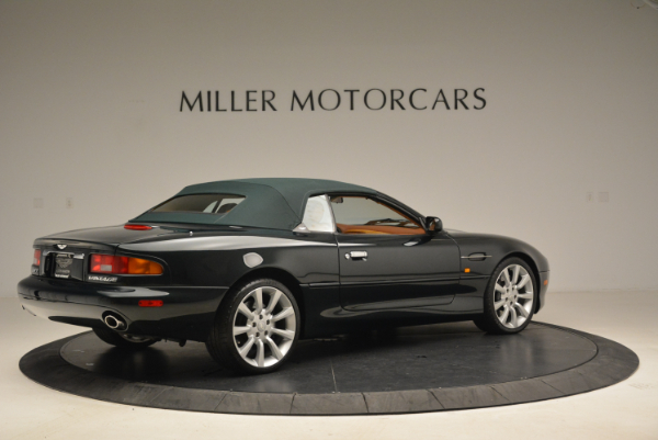 Used 2003 Aston Martin DB7 Vantage Volante for sale Sold at Rolls-Royce Motor Cars Greenwich in Greenwich CT 06830 20