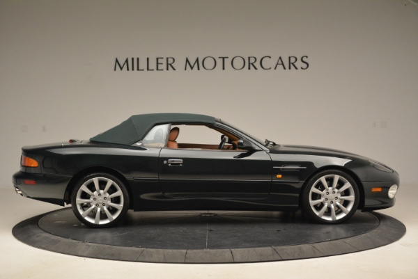 Used 2003 Aston Martin DB7 Vantage Volante for sale Sold at Rolls-Royce Motor Cars Greenwich in Greenwich CT 06830 21