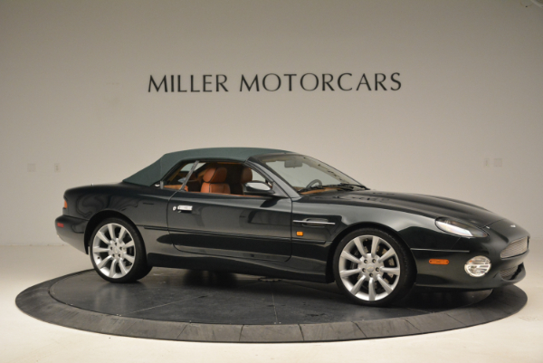 Used 2003 Aston Martin DB7 Vantage Volante for sale Sold at Rolls-Royce Motor Cars Greenwich in Greenwich CT 06830 22