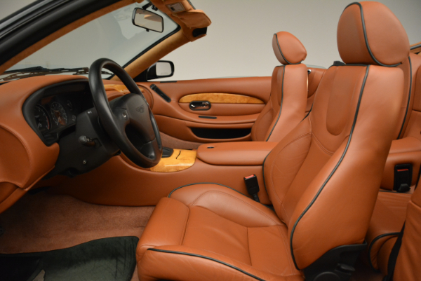 Used 2003 Aston Martin DB7 Vantage Volante for sale Sold at Rolls-Royce Motor Cars Greenwich in Greenwich CT 06830 23