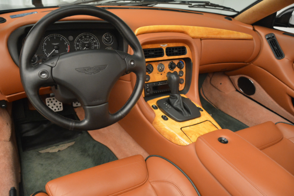 Used 2003 Aston Martin DB7 Vantage Volante for sale Sold at Rolls-Royce Motor Cars Greenwich in Greenwich CT 06830 24