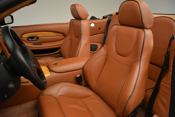 Used 2003 Aston Martin DB7 Vantage Volante for sale Sold at Rolls-Royce Motor Cars Greenwich in Greenwich CT 06830 26