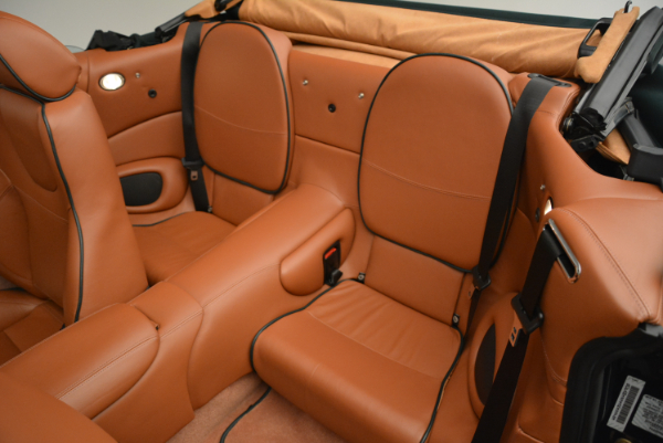 Used 2003 Aston Martin DB7 Vantage Volante for sale Sold at Rolls-Royce Motor Cars Greenwich in Greenwich CT 06830 27
