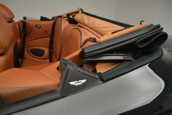 Used 2003 Aston Martin DB7 Vantage Volante for sale Sold at Rolls-Royce Motor Cars Greenwich in Greenwich CT 06830 28