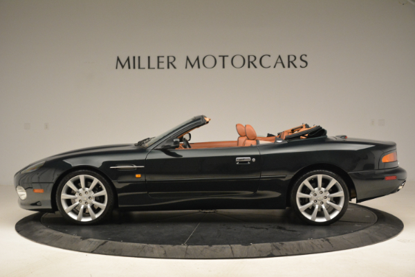 Used 2003 Aston Martin DB7 Vantage Volante for sale Sold at Rolls-Royce Motor Cars Greenwich in Greenwich CT 06830 3