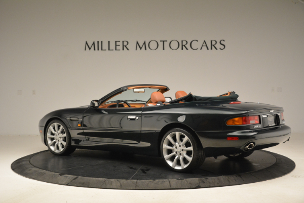 Used 2003 Aston Martin DB7 Vantage Volante for sale Sold at Rolls-Royce Motor Cars Greenwich in Greenwich CT 06830 4