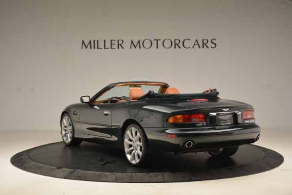 Used 2003 Aston Martin DB7 Vantage Volante for sale Sold at Rolls-Royce Motor Cars Greenwich in Greenwich CT 06830 5