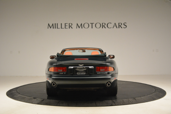 Used 2003 Aston Martin DB7 Vantage Volante for sale Sold at Rolls-Royce Motor Cars Greenwich in Greenwich CT 06830 6