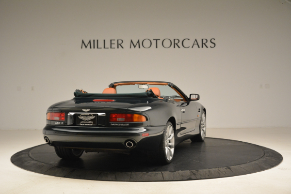 Used 2003 Aston Martin DB7 Vantage Volante for sale Sold at Rolls-Royce Motor Cars Greenwich in Greenwich CT 06830 7