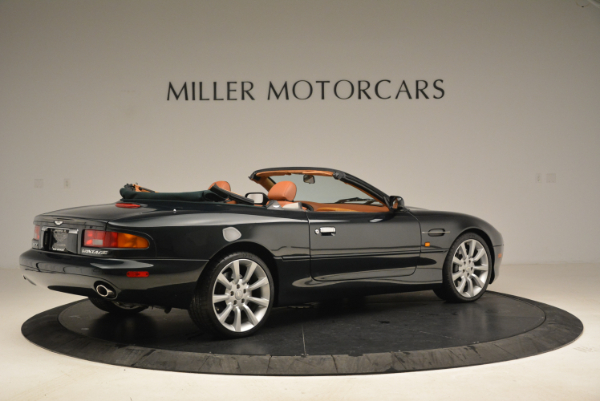 Used 2003 Aston Martin DB7 Vantage Volante for sale Sold at Rolls-Royce Motor Cars Greenwich in Greenwich CT 06830 8