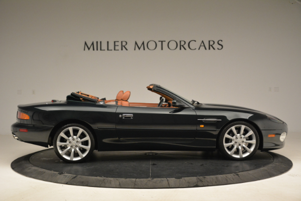 Used 2003 Aston Martin DB7 Vantage Volante for sale Sold at Rolls-Royce Motor Cars Greenwich in Greenwich CT 06830 9