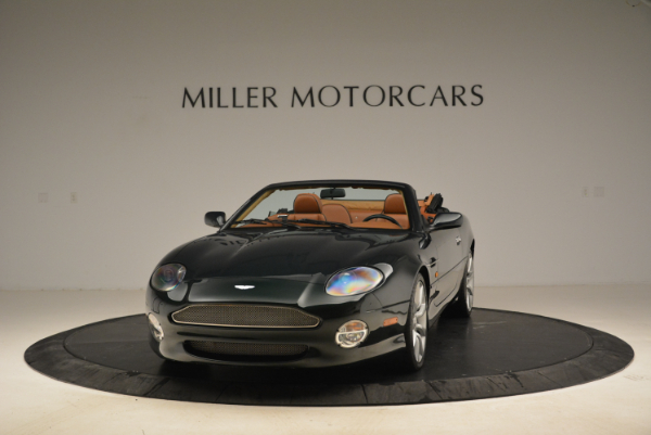 Used 2003 Aston Martin DB7 Vantage Volante for sale Sold at Rolls-Royce Motor Cars Greenwich in Greenwich CT 06830 1