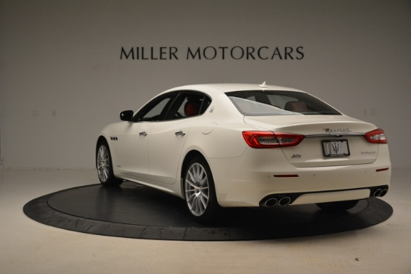 New 2018 Maserati Quattroporte S Q4 GranLusso for sale Sold at Rolls-Royce Motor Cars Greenwich in Greenwich CT 06830 7