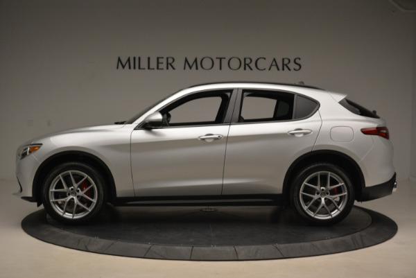 New 2018 Alfa Romeo Stelvio Ti Sport Q4 for sale Sold at Rolls-Royce Motor Cars Greenwich in Greenwich CT 06830 3