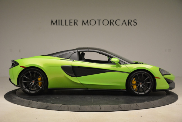New 2018 McLaren 570S Spider for sale Sold at Rolls-Royce Motor Cars Greenwich in Greenwich CT 06830 20