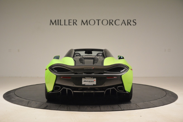 New 2018 McLaren 570S Spider for sale Sold at Rolls-Royce Motor Cars Greenwich in Greenwich CT 06830 6