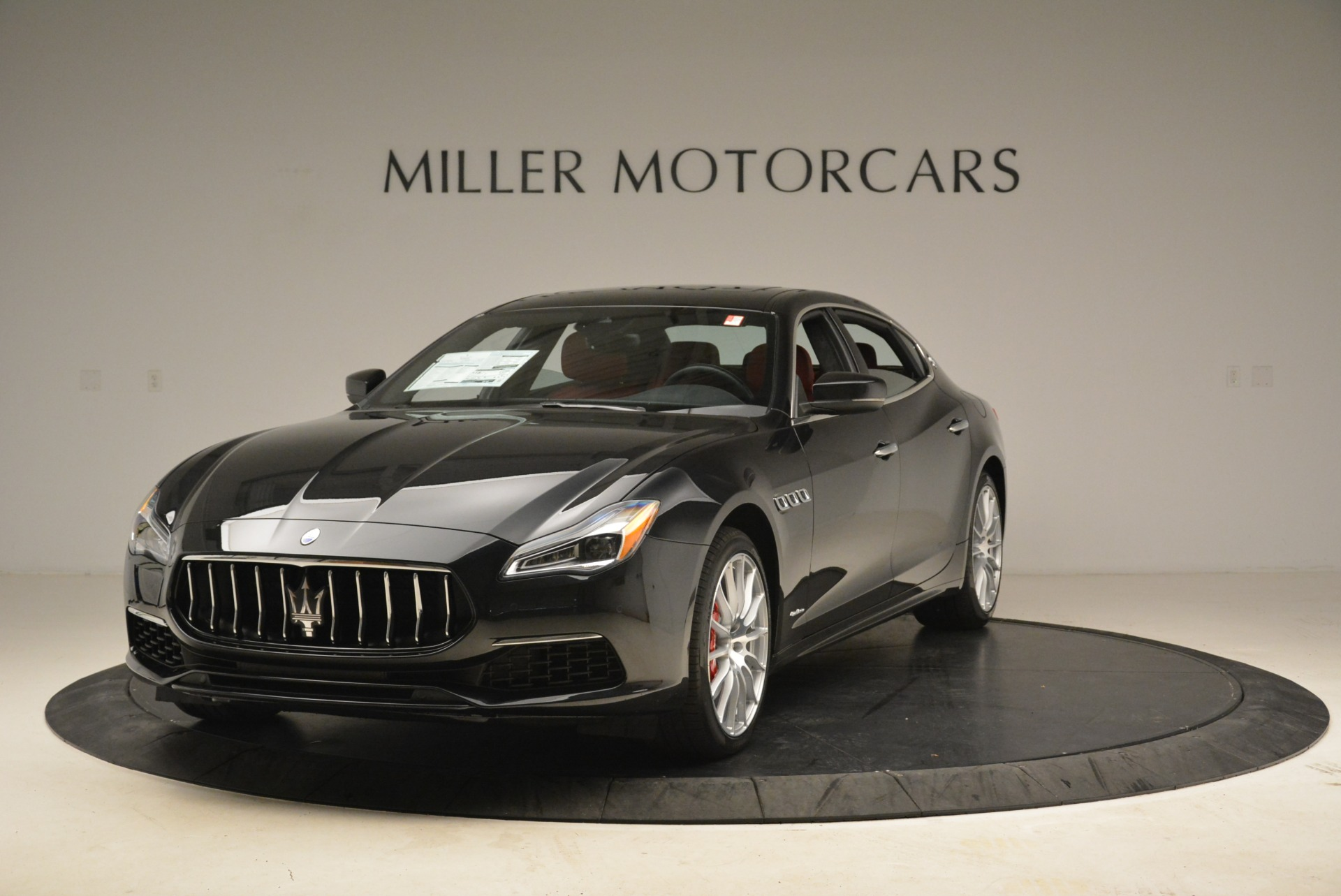 New 2018 Maserati Quattroporte S Q4 GranLusso for sale Sold at Rolls-Royce Motor Cars Greenwich in Greenwich CT 06830 1
