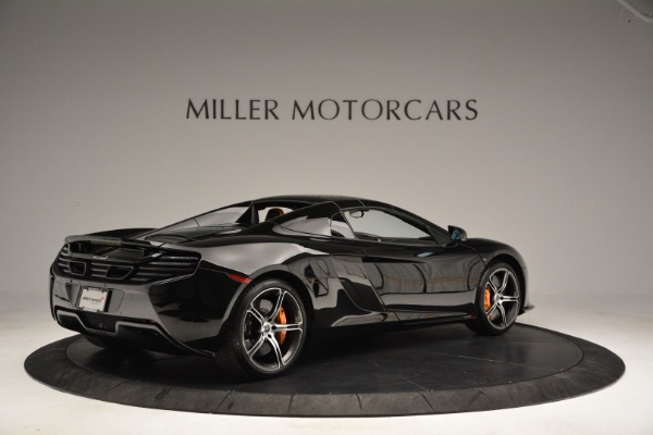 Used 2015 McLaren 650S Spider for sale Sold at Rolls-Royce Motor Cars Greenwich in Greenwich CT 06830 18