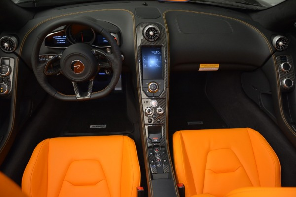 Used 2015 McLaren 650S Spider for sale Sold at Rolls-Royce Motor Cars Greenwich in Greenwich CT 06830 22